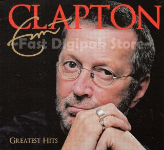 Eric Clapton Greatest Hits 2011 2CD Digipak Same Day Shipping from USA