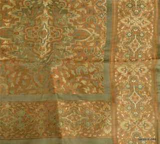 Vintage Design Fabric Hand Woven Craft Indian Floral Art Wall Home