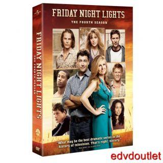 Brand New Friday Night Lights DVD Complete Fourth Season 4