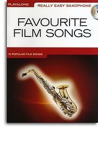 Really Easy Film Songs for Alto Saxophone Sax CD Book