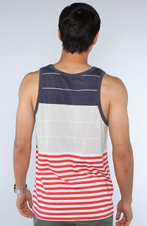 LRG The Planet Rock Tank Top in Navy Heather