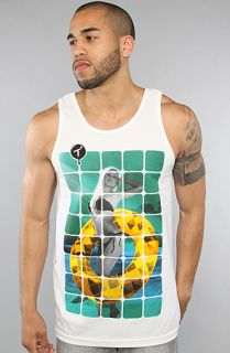 Two In The Shirt) The Sun Donut Tank in White  Karmaloop