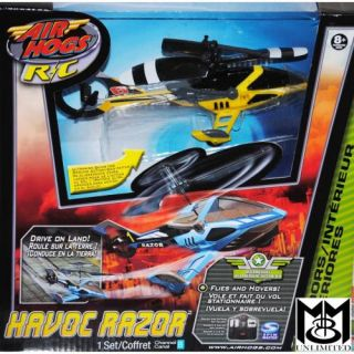 Radio Control Razor Yellow Helicopter with Landing Gear New