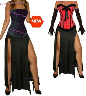 Costume Outfit Prom Goth Fancy Dress Sexy Women Party Clothes