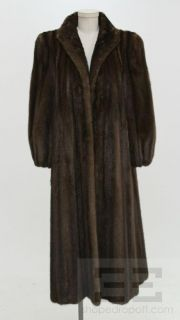 Revillon at  Dark Brown Mink Full Length Coat