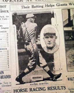 1st Home Run Comiskey Park Chicago Babe Ruth New York Yankees 1927 Old