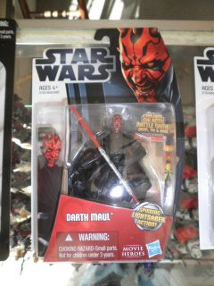 2012 Star Wars Movie Legends Heroes Wave 5 Darth Maul MH05 New