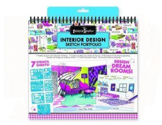 Fashion Angels Interior Design Sketch Portfolio Fosters Creativity