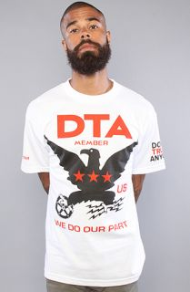 DTA   Rogue Status The Standard Practice Tee in White