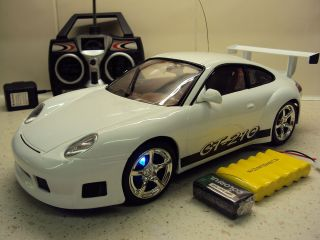 Porsche 911 Turbo GT Remote Control Car Super Fast Rechargeable
