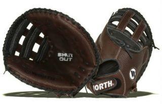 Shut Out Softball Catchers Mitt RHT 35 inch baseball fastpitch glove