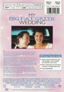 Big Fat Greek Wedding Nia Vardalos Joey Fatone DVD 026359199325