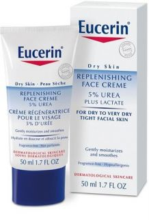 Eucerin Dry Skin Replenishing Face Day Cream 5 Urea with Lactate 50ml