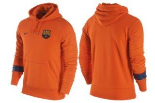 Nike Barcelona Core Hoodie Sweatshirt Hooded Shirt 478154 815 Orange s
