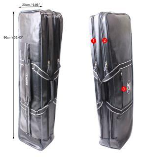 Fishing Rod Case Bag Organizer Tackle Boxes Bags 2 Pockets