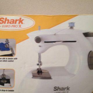 Shark Euro Pro Sewing Machine Original Box