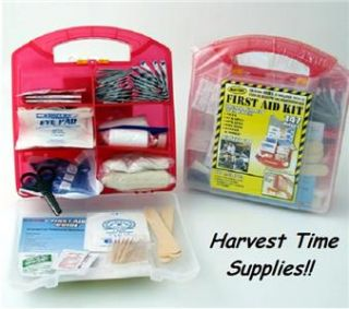 Lot 2 First Aid Kits 147 PC Emergency Survival Gear Kit