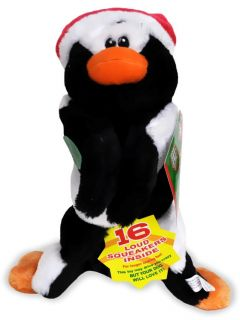 squeaker mat dog toy penguin medium the penguin squeaker mat medium is