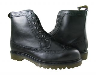 New Dr Martens Mens Fitzroy Black Boots US