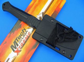 MTech Xtreme G10 Handle Fixed Blade Boot Knife Dagger with Clip Sheath
