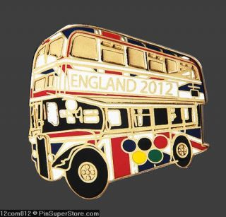 2012 England Union Jack UK London Flag Design Double Decker BU
