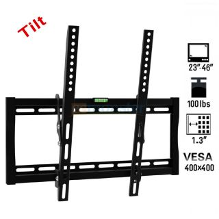 23 46 100lbs LCD LED Plasma Flat Panel TV Wall Mount Bracket