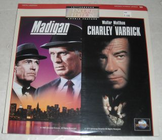 SEALED MOVIE LASERDISC 1968 RUICHARD WIDMARK as MADIGAN & CHARLEY
