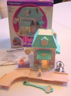 Vintage Fisher Price 80s Toys Precious Places Pet Shop