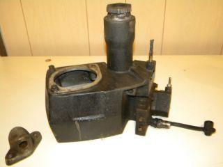 Fisher Snow Plow Pump Housing Reservoir Elecric Hydraulic Minue