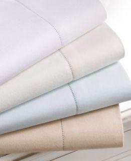 MARTHA STEWART Solid Luxury Flannel QUEEN Sheet Set Snow White