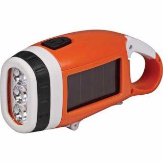 NEW Energizer 2012 Weatherproof Solar Rechargeable LED Flashlight