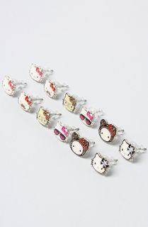 Loungefly The Hello Kitty Dress Up 6 Pack Stud Earrings  Karmaloop