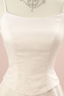 Evita Vegas or Destination Wedding Dress Gown 14 Ivory Brand New