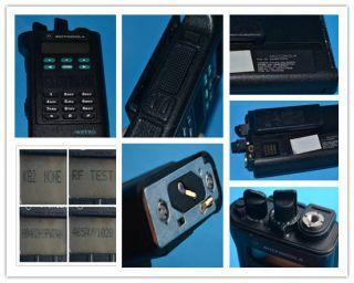 Motorola Astro Saber III 136 174MHZ VHF Radio Model H04KDH9PW7AN