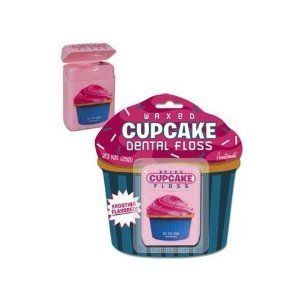 Cupcake Flavored Waxed Dental Floss Breakfast Dessert Sweet Tooth