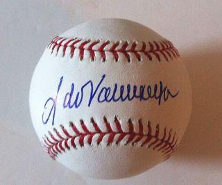 Fernando Valenzuela Signed Baseball Dodgers MLB Holo