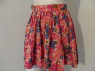 Tracy Feith Target Pink Flower Full Circle Mini Skirt 1