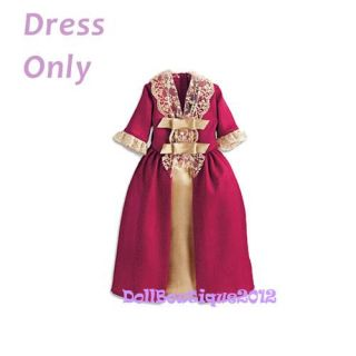 Doll Clothes Outfit for American Girl Felicitys Gala Gown Only Dress