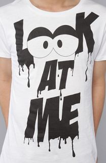 Joyrich The Look At Me Tee in White Concrete