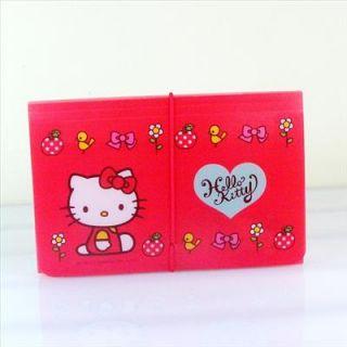 Hello Kitty Expandable File Folders Red Garden Sanrio