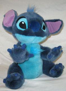Stitch as Dog Blue Plush  Stuffed Animal Doll 14 Lilo And