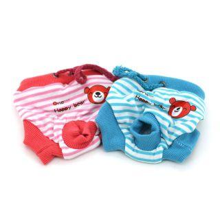 Female Pet Dog Physiological Pants Dog Diapers WONPET M025