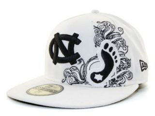 New New Era UNC Tarheels Swagger Fitted Cap Hat $32