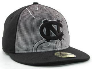 New New Era UNC Tarheels Low Res Fitted Cap Hat $32