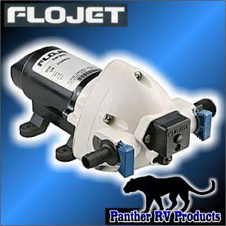 Flojet 12 Volt Triplex Water Pump 2 9GPM 03526144A camper Trailer RV