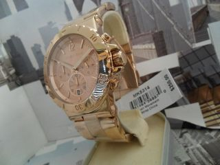 Michael Kors Midsized 3 eye design Chronograph Rose GOLD Model MK5314