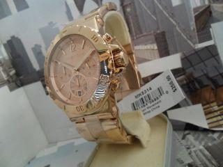 Michael Kors Midsized 3 eye design Chronograph Rose GOLD Model MK5314