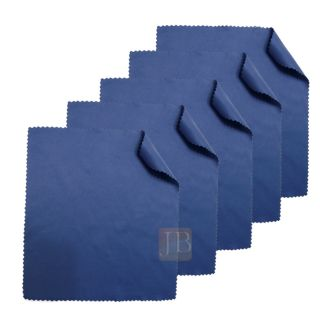 Micro Fiber Eyeglass Cleaning Cloth Lens Cleaners 5 Cloths