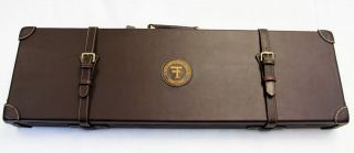 NEW, T.FERNEY & Co. Genuine Leather Shotgun Case