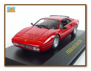 Official Ferrari 328 GTB 1 43 Die Cast Car Red New Hot Wheels Mattel